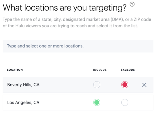 What locations are you locating?